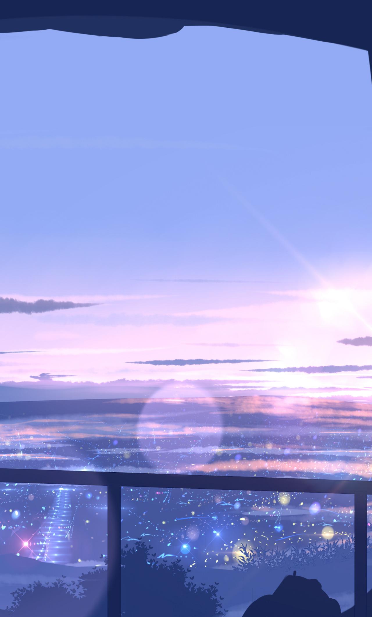 1280x2120 Scenery View From Window Anime 4k Iphone 6 Hd 4k