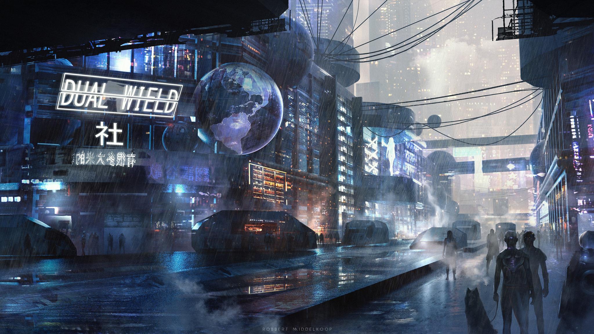 Scifi City Futuristic C9 Jpg