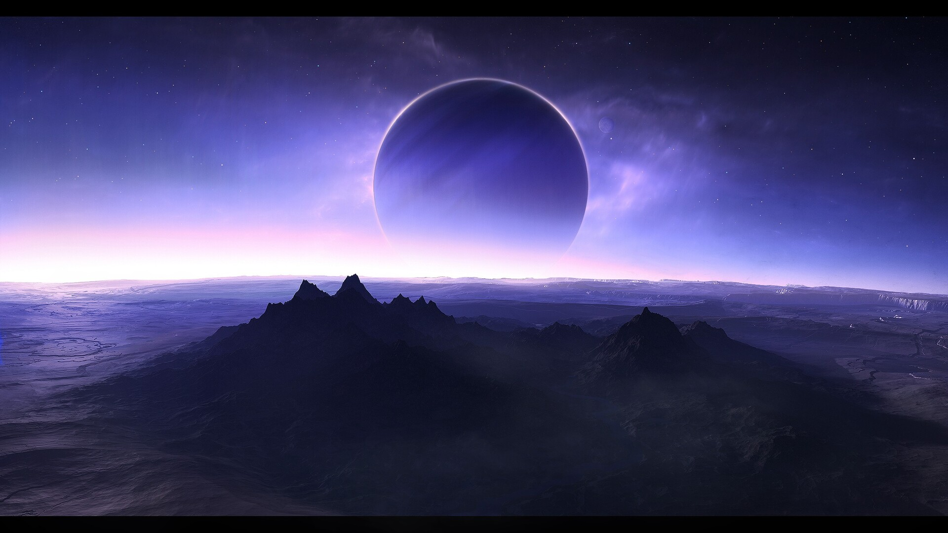 Universe Wallpapers 1080p 75 Images: 1920x1080 Scifi Twilight Laptop Full HD 1080P HD 4k
