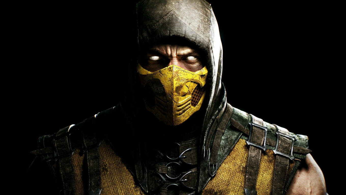 1360x768 Scorpion In Mortal Kombat Laptop Hd Hd 4k Wallpapers