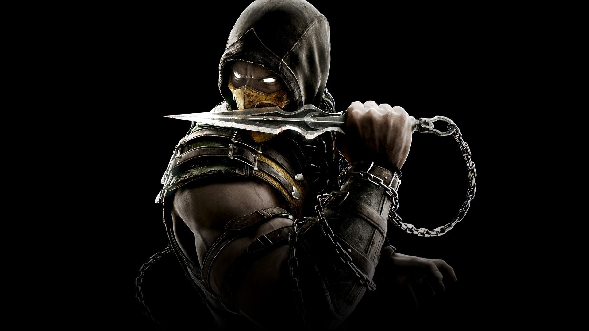 Mortal Kombat X Scorpio 3d Cool Video Games Wallpapers: 1920x1080 Scorpion Mortal Kombat Laptop Full HD 1080P HD