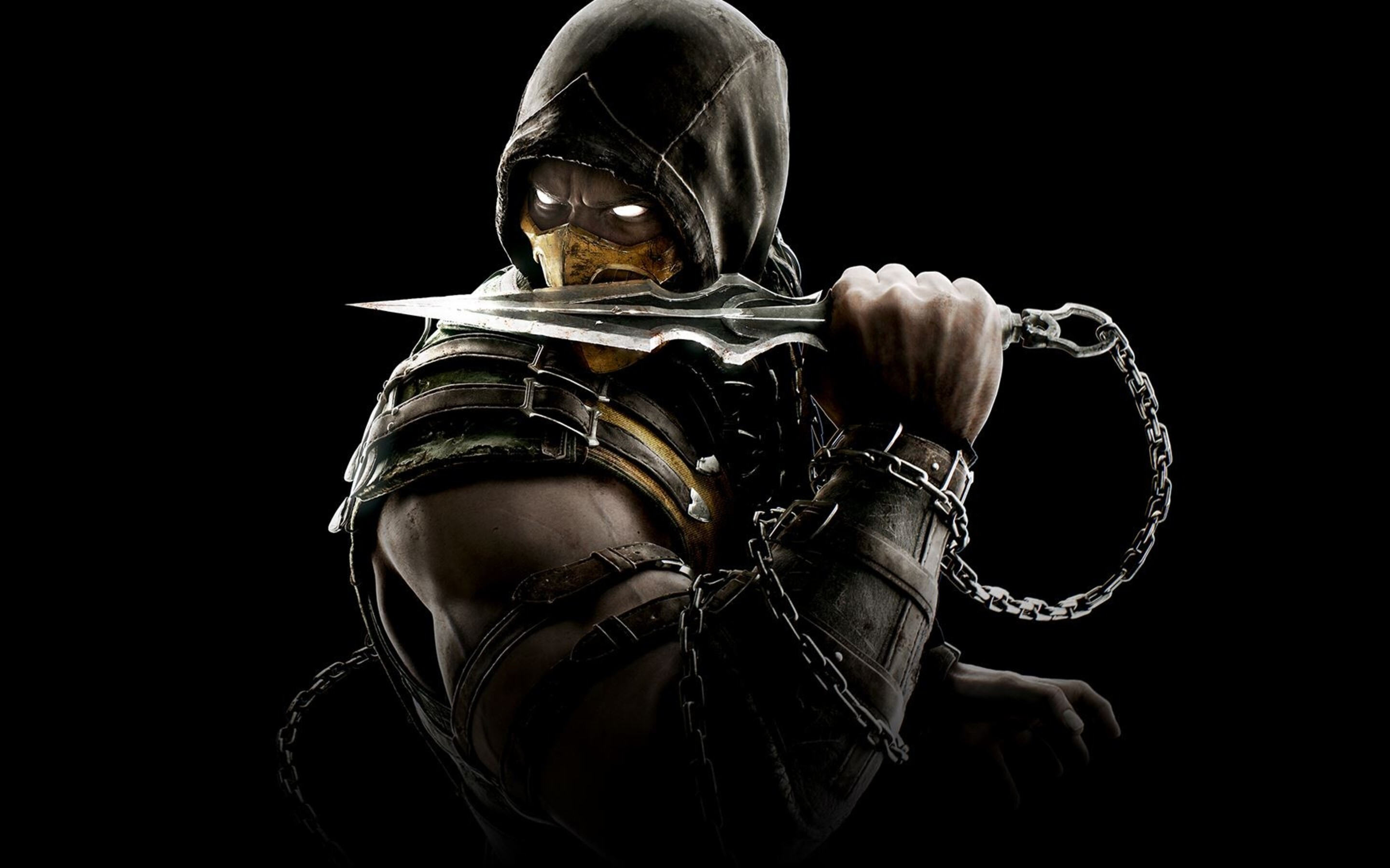 2880x1800 Scorpion Mortal Kombat Macbook Pro Retina Hd 4k Wallpapers