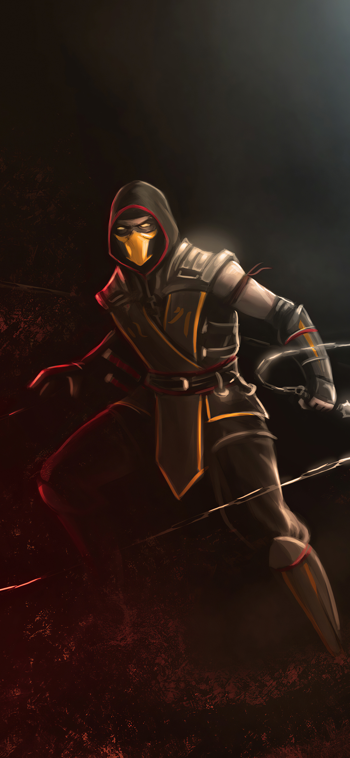 scorpion mortal kombat 4k it