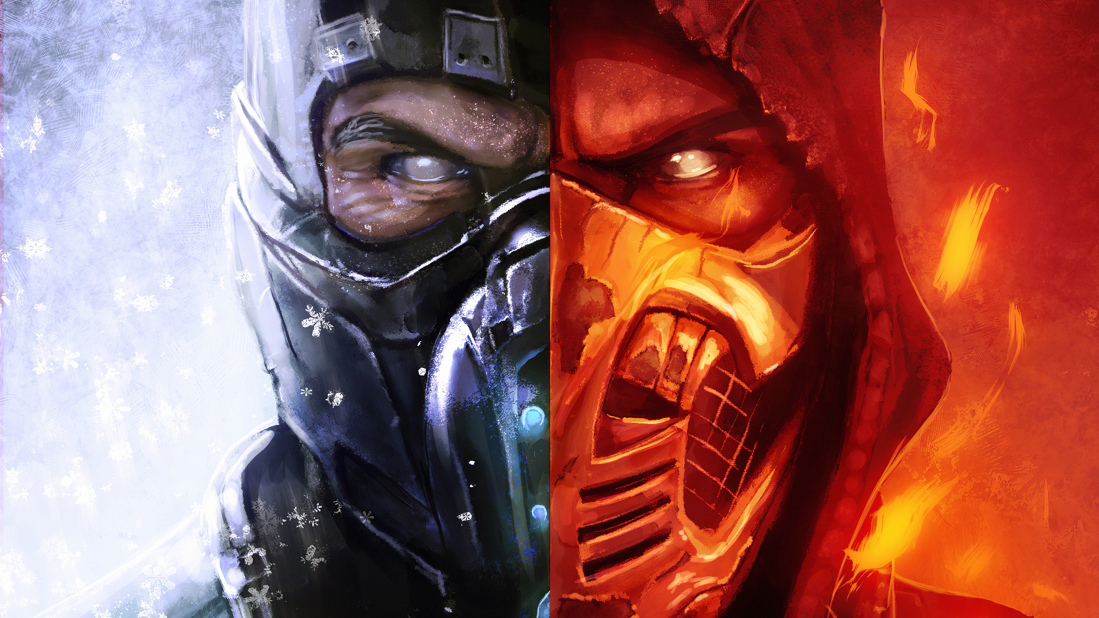 3840x2160 Scorpion Mortal Kombat X Art4k 4k Hd 4k Wallpapers