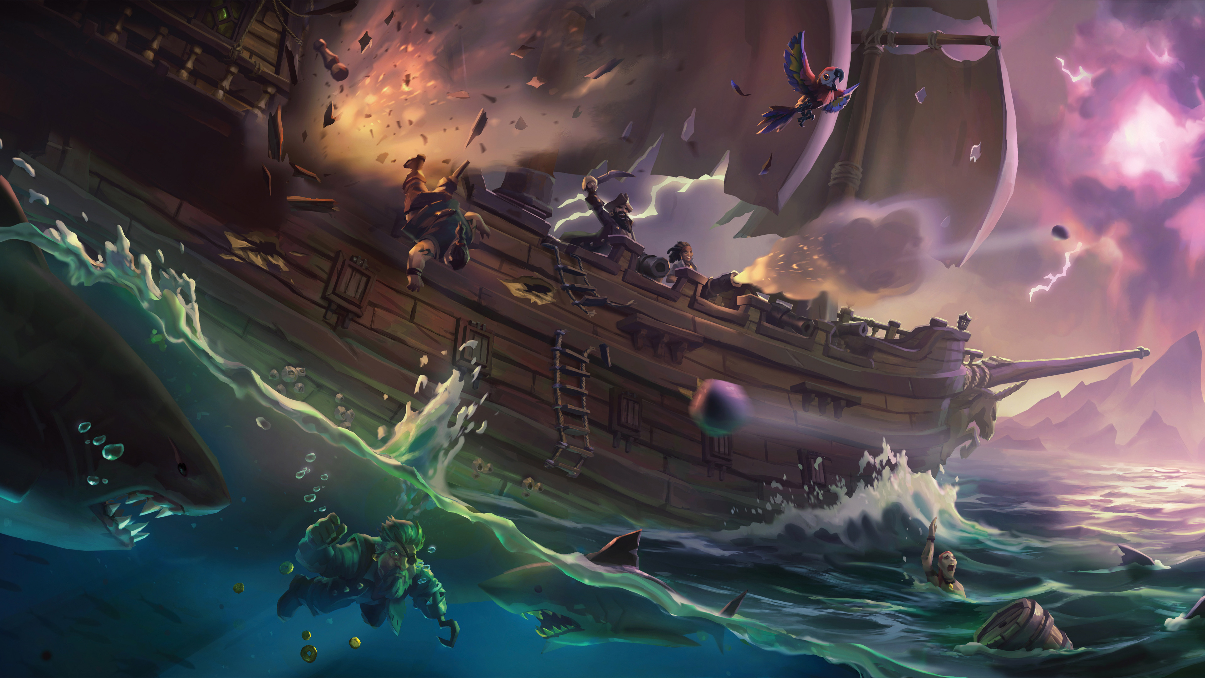3840x2160 Sea Of Thieves 4k HD 4k Wallpapers, Images ...