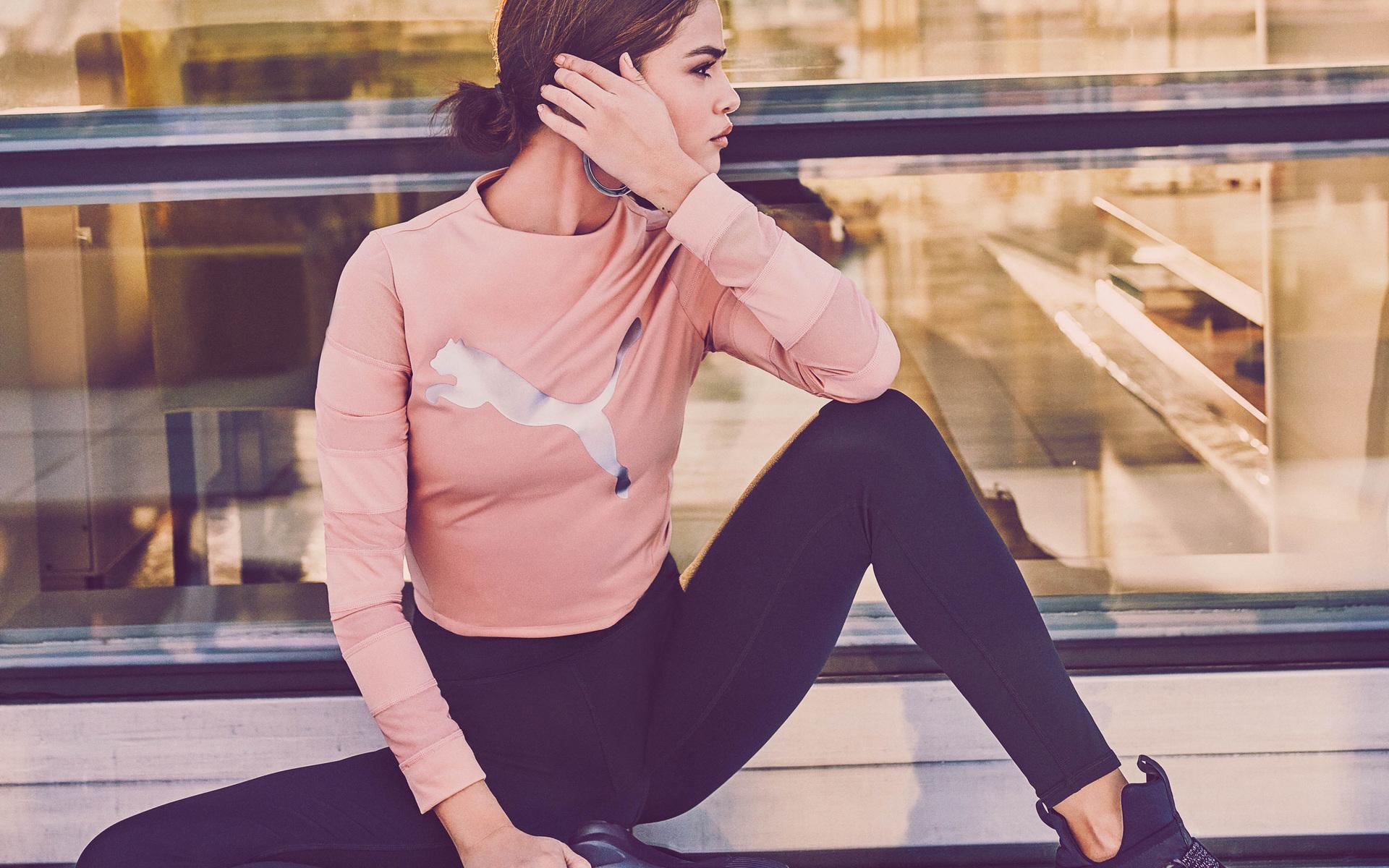 1920x1200 Selena Gomez Puma Campaign 2018 Photoshoot 4k ...