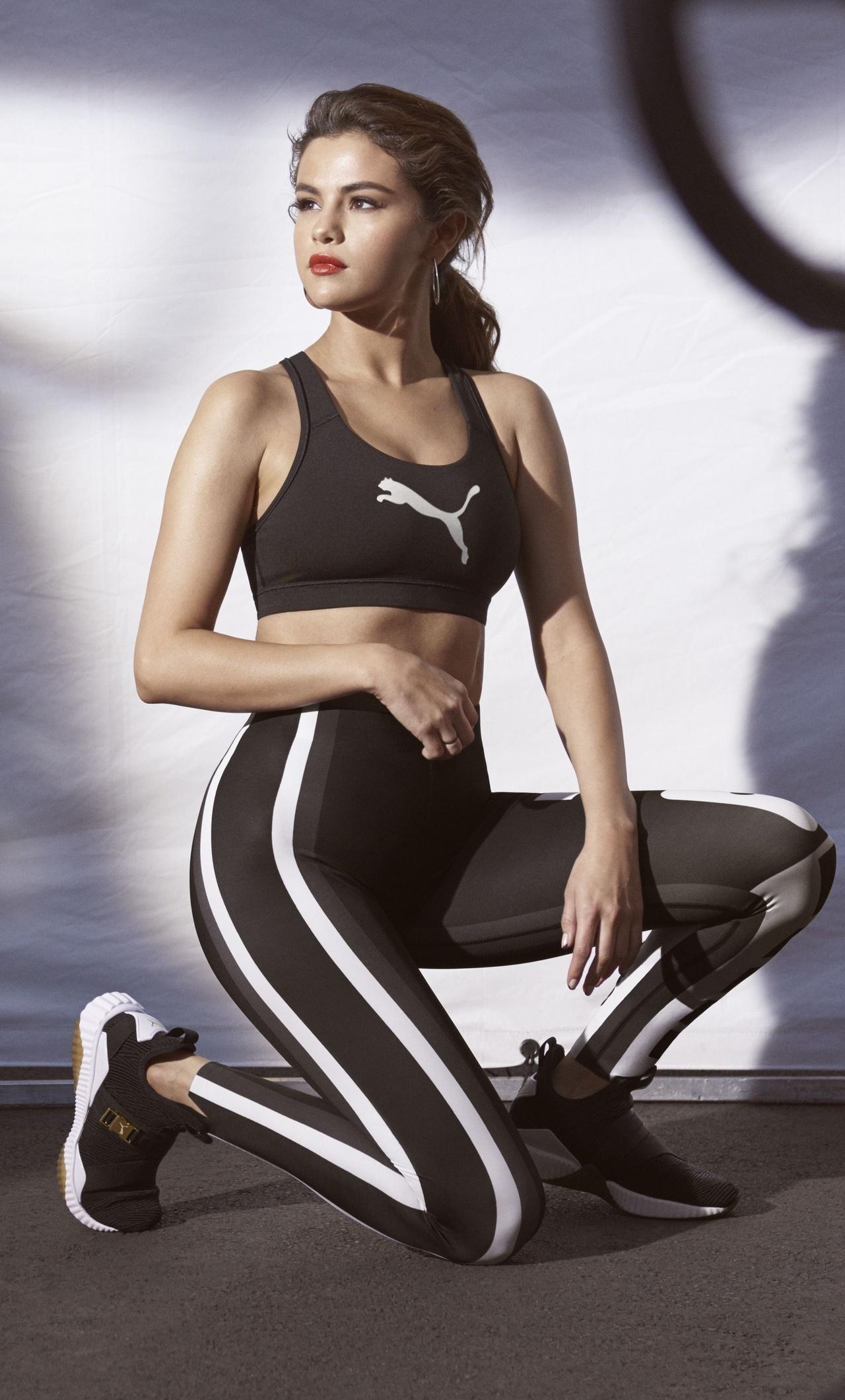 05da42d4dabd 1280x2120 Selena Gomez PUMA New DEFY Mid Sneaker iPhone 6+ HD 4k ...
