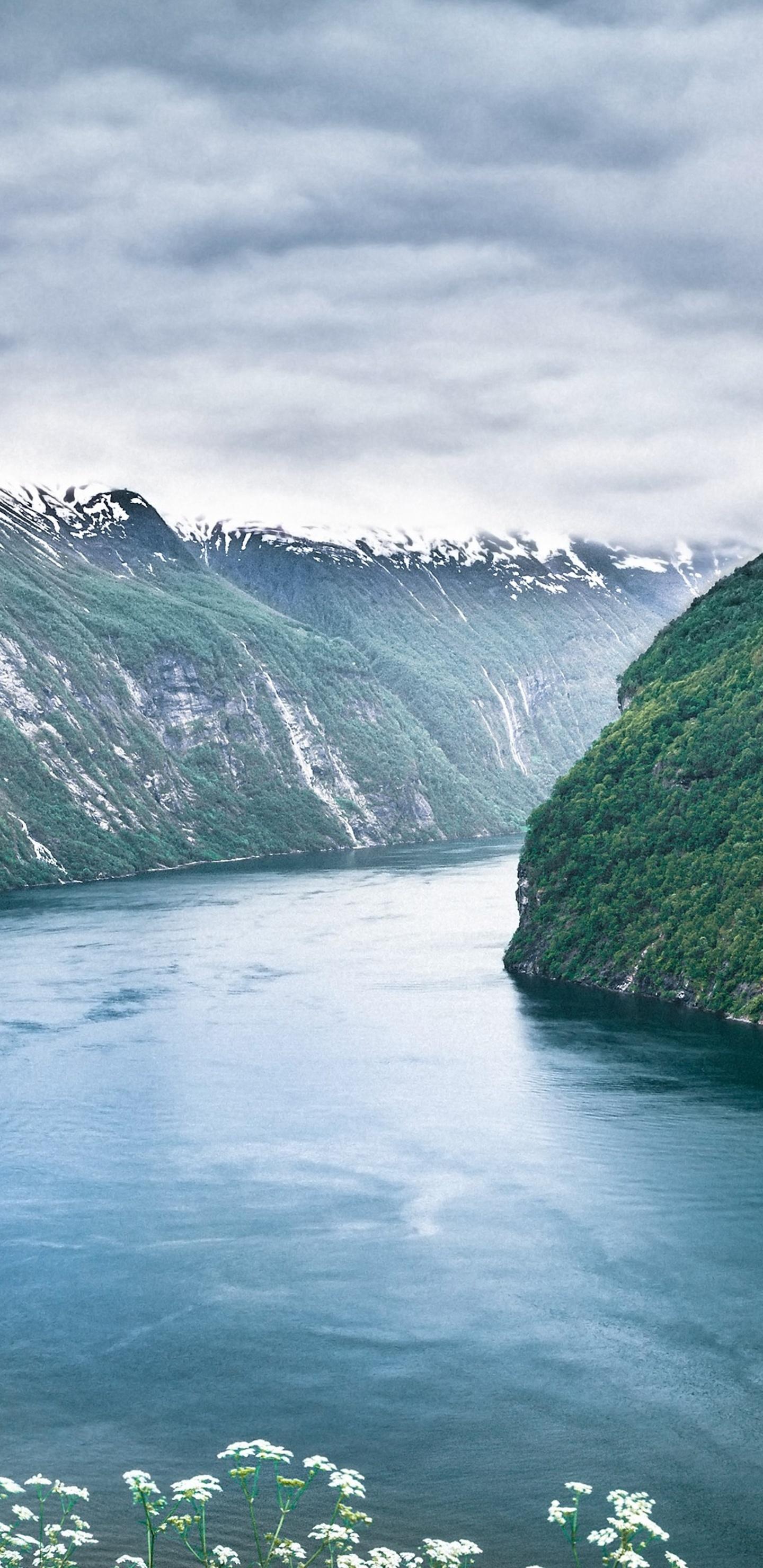 Fjord wallpaper