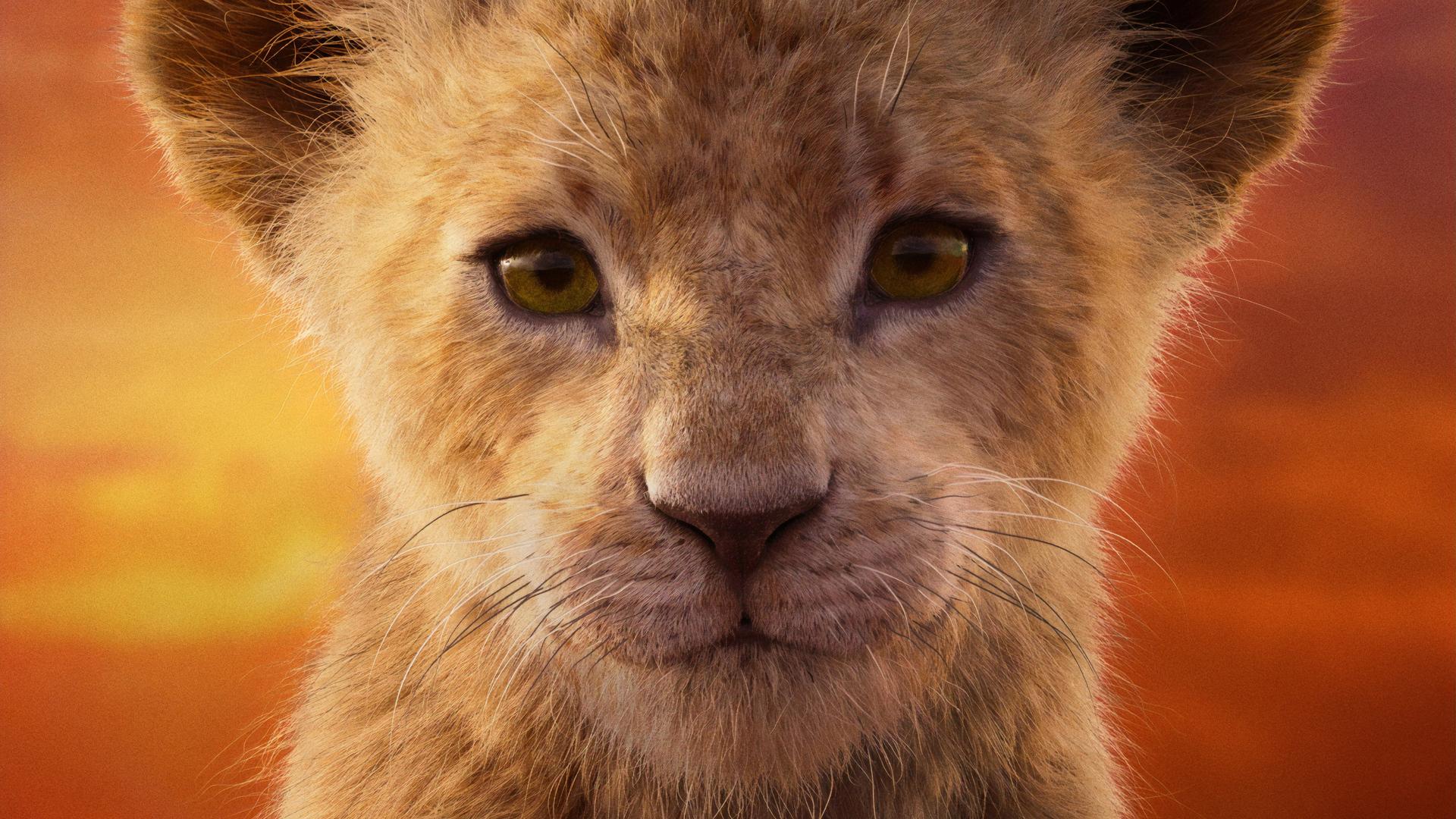 1920x1080 Shahadi Wright Joseph As Nala The Lion King 2019 4k Laptop
