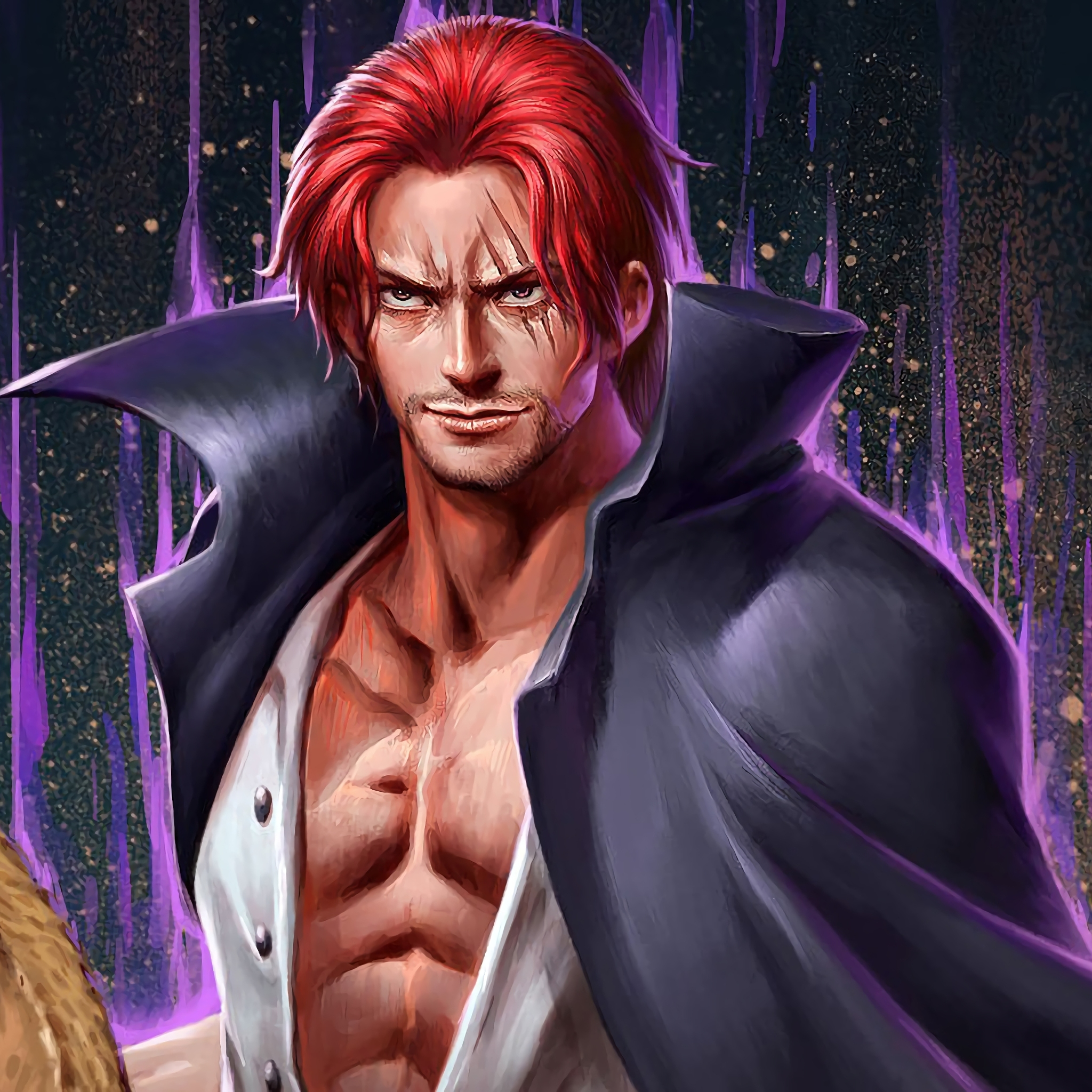 2048x2048 Shanks One Piece Ipad Air Hd 4k Wallpapers Images