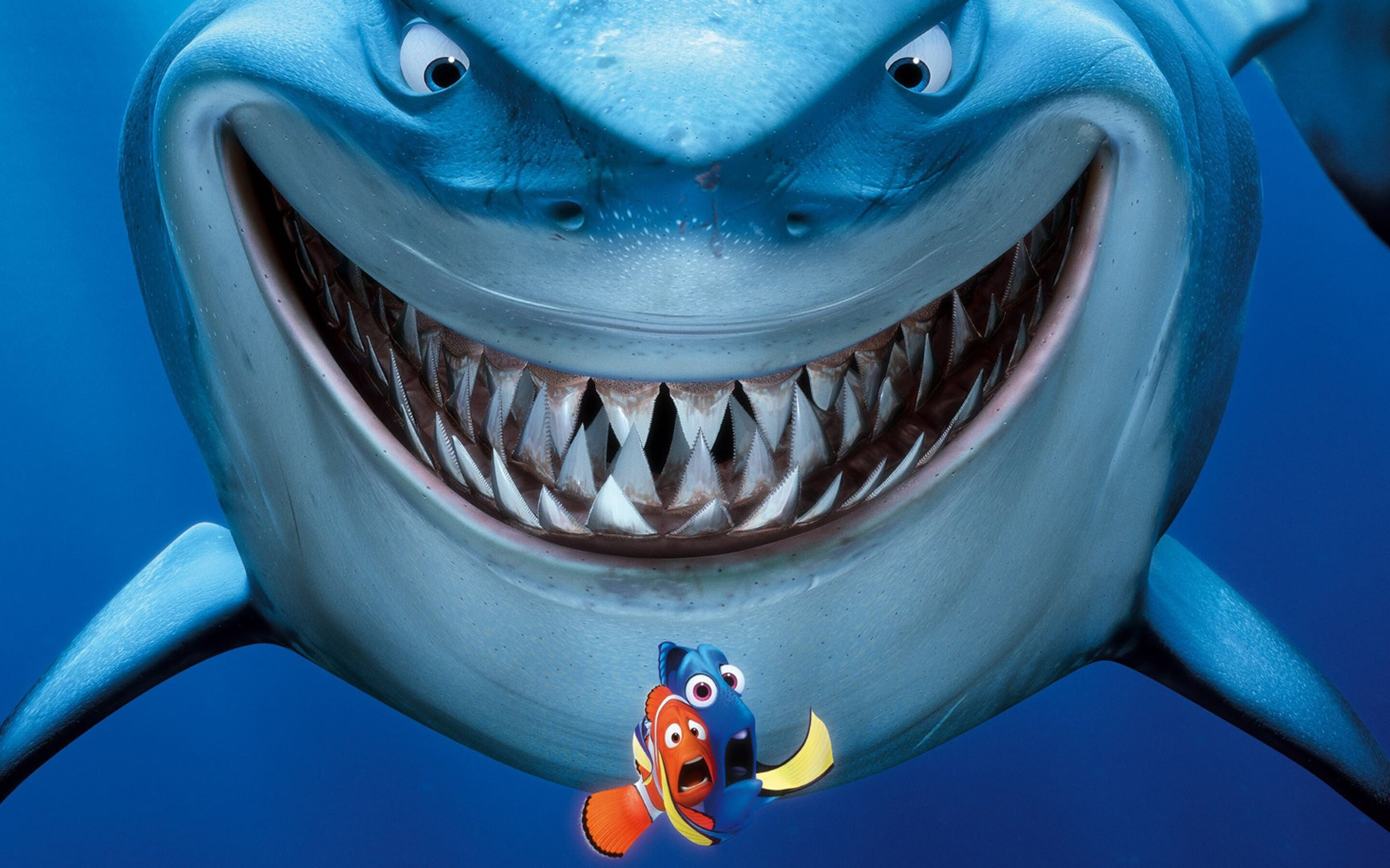 shark finding nemo