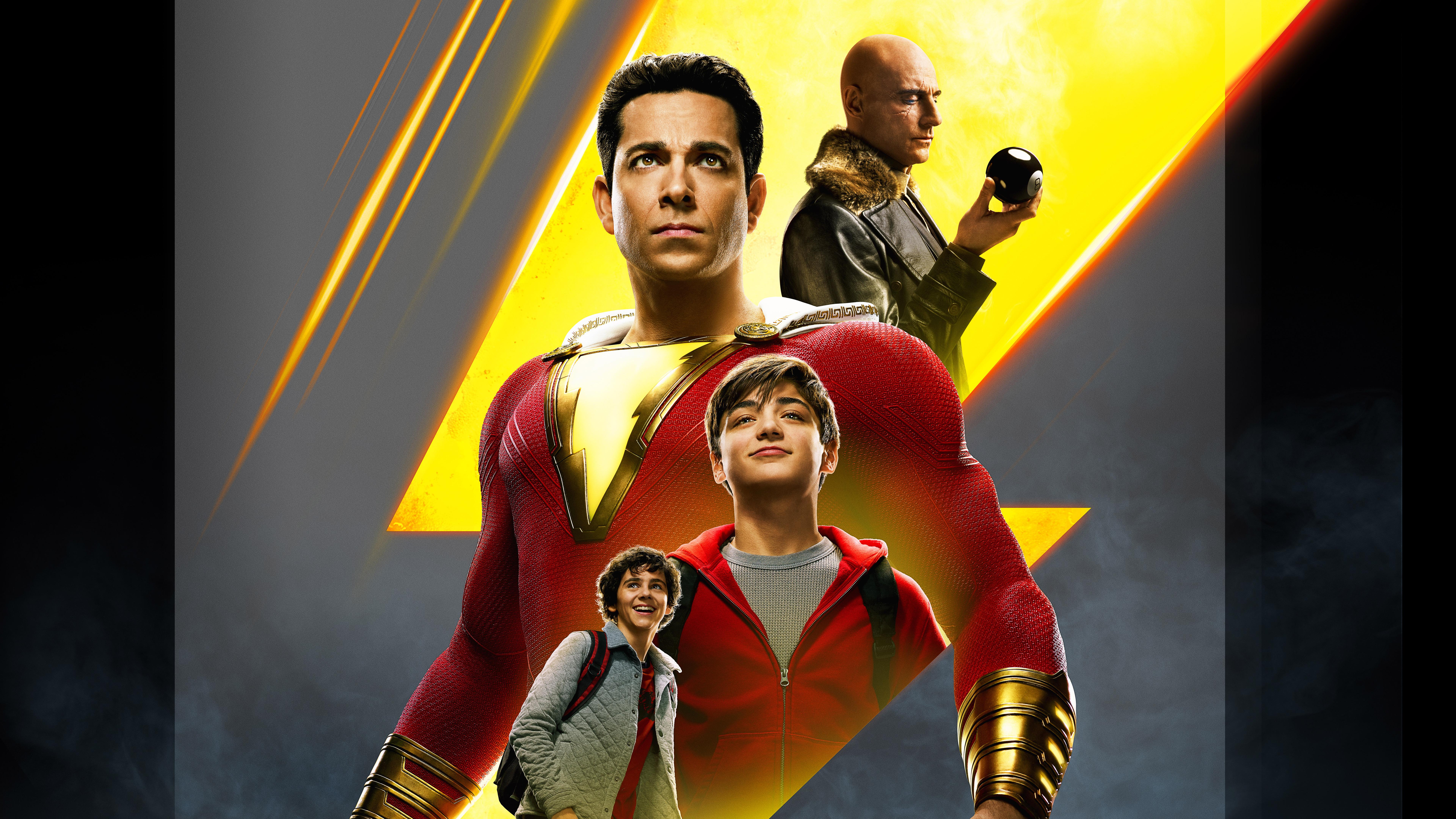 Movie Poster 2019: 7680x4320 Shazam 2019 Movie China Poster 8k HD 4k