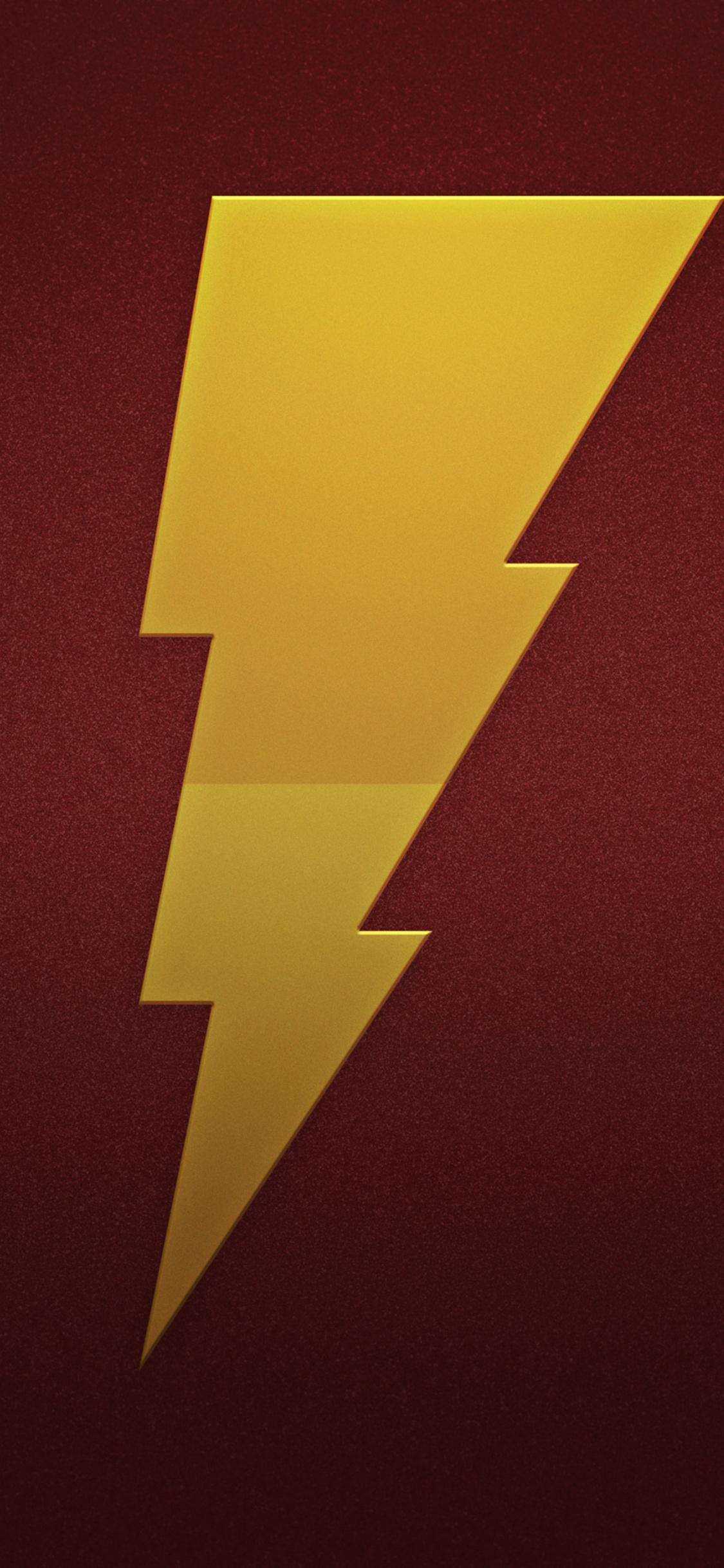 1125x2436 Shazam Logo Iphone Xs Iphone 10 Iphone X Hd 4k Wallpapers