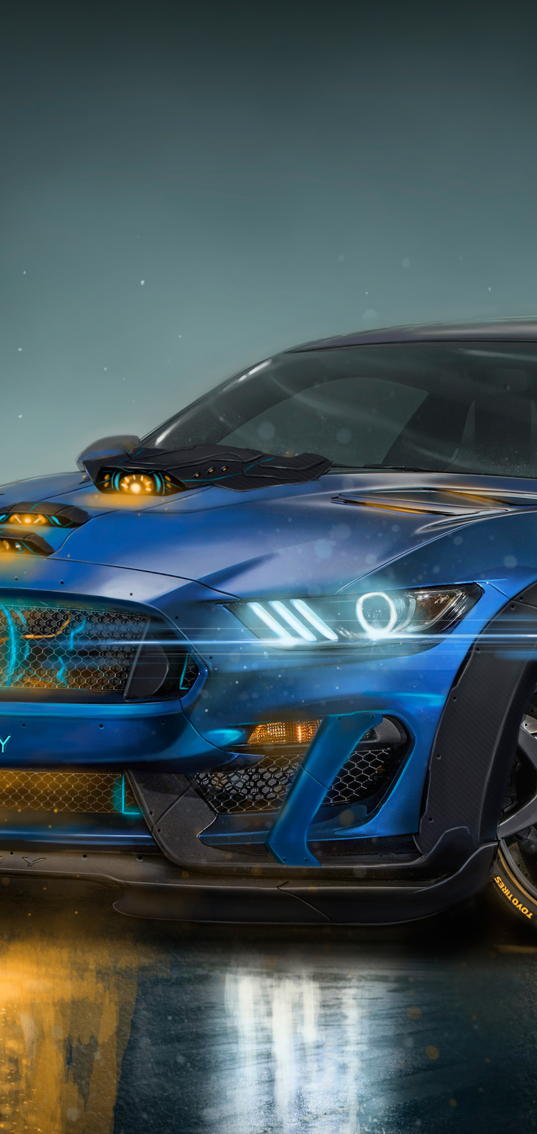 shelby gt350r amg artwork 0d