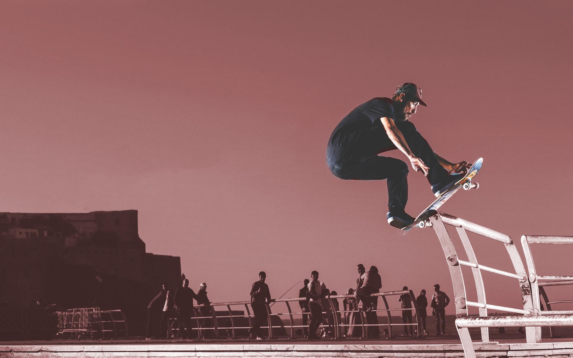 1920x1200 Skateboard Stunting Man 4k 1080P Resolution HD ...