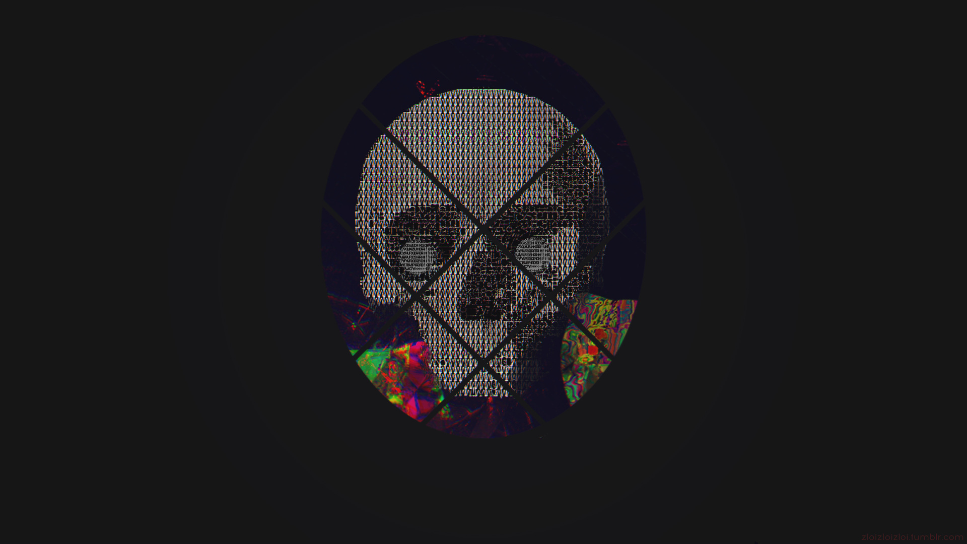 1920x1080 Skull Abstract Art 4k Laptop Full Hd 1080p Hd 4k