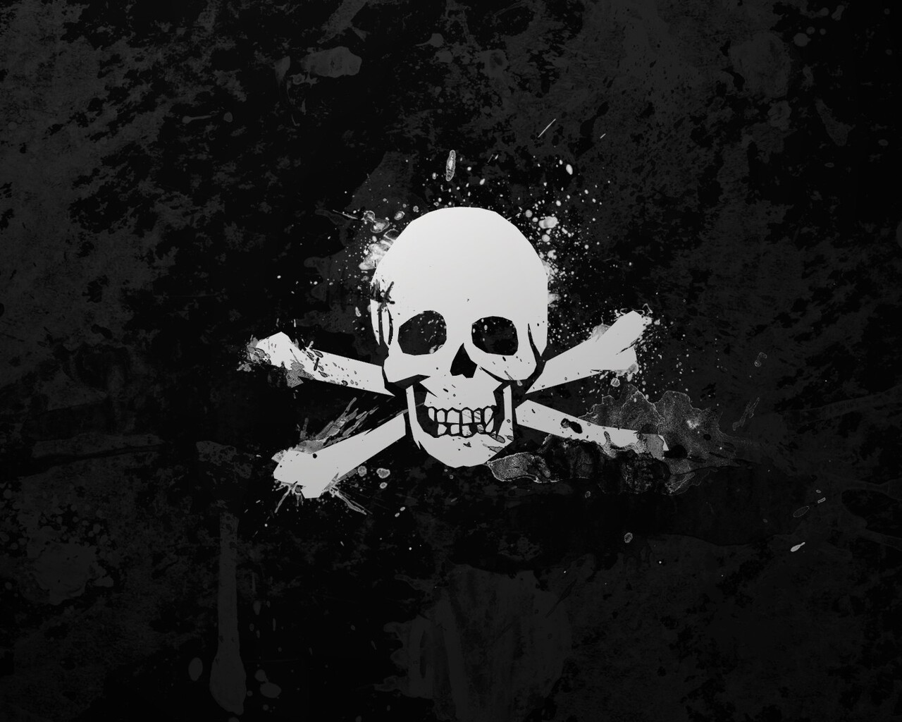 1280x1024 Skull Black And White 1280x1024 Resolution Hd 4k