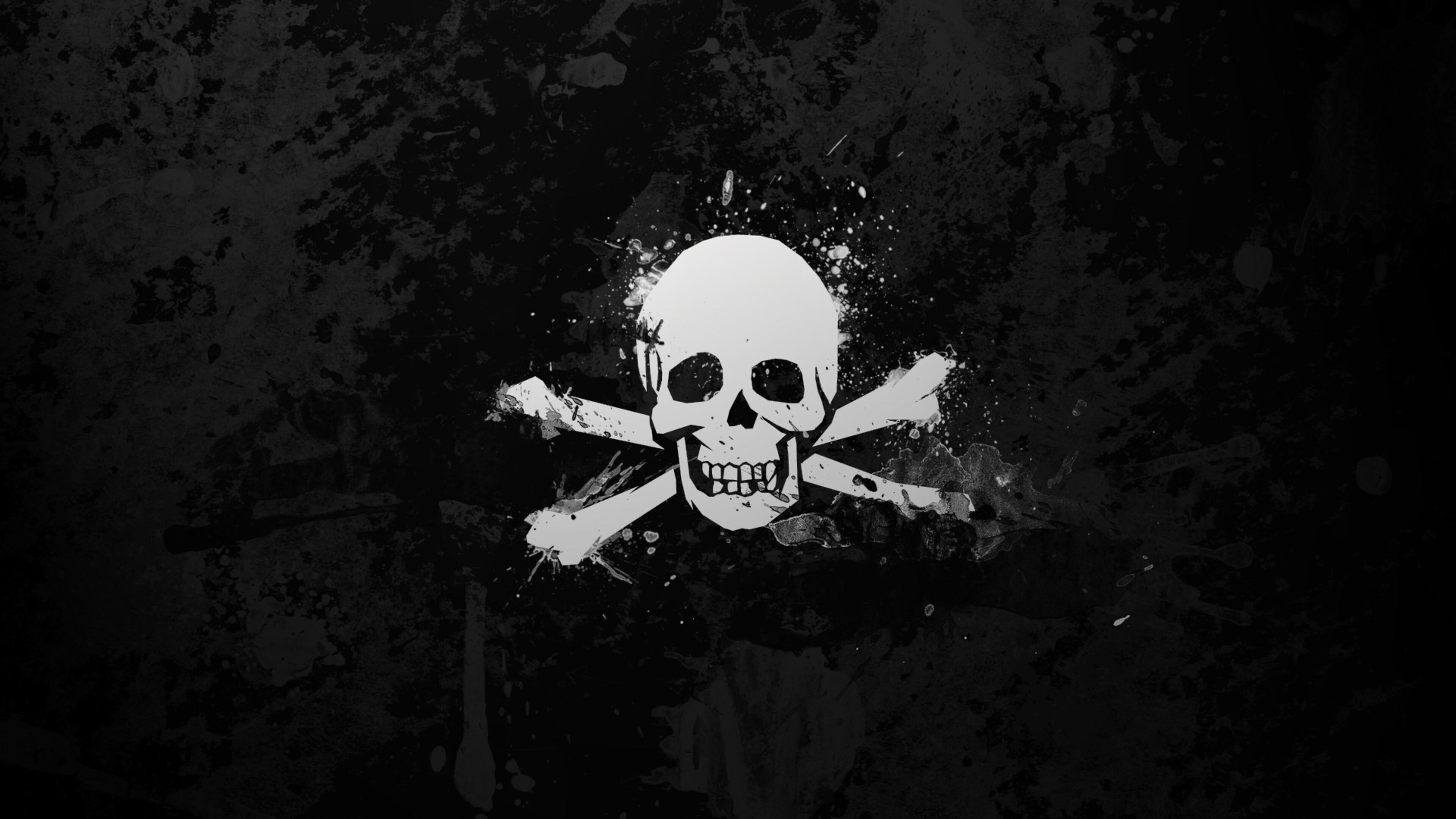 пиратчкий флаг череп piratski flag skull смотреть