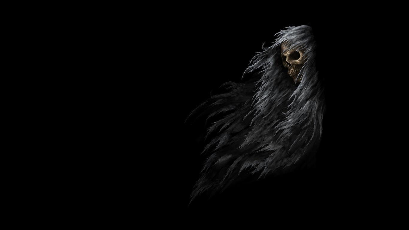 1366x768 Skull Dark Fantasy 1366x768 Resolution Hd 4k