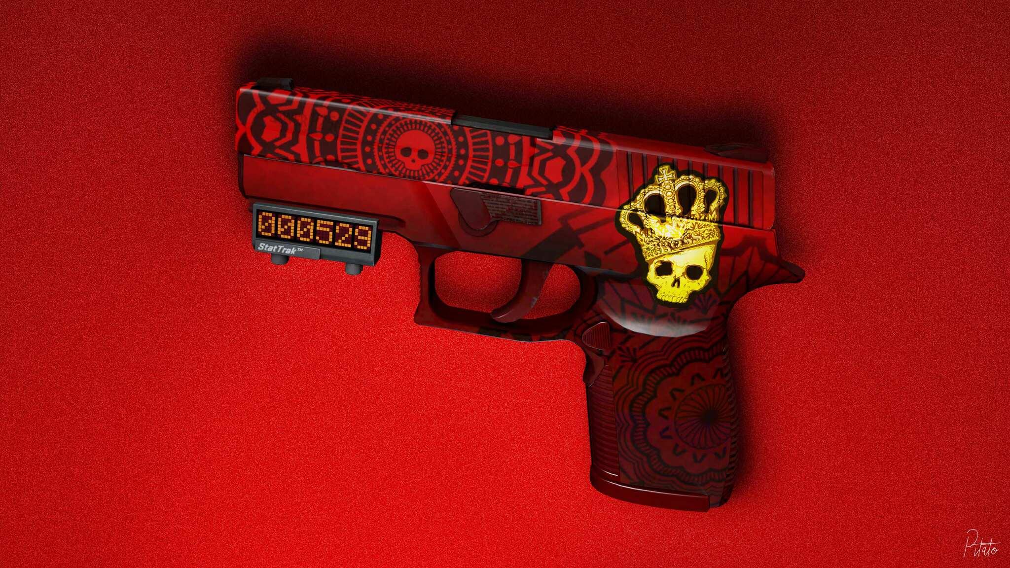 2048x1152 Skull Gun 4k 2048x1152 Resolution Hd 4k Wallpapers Images