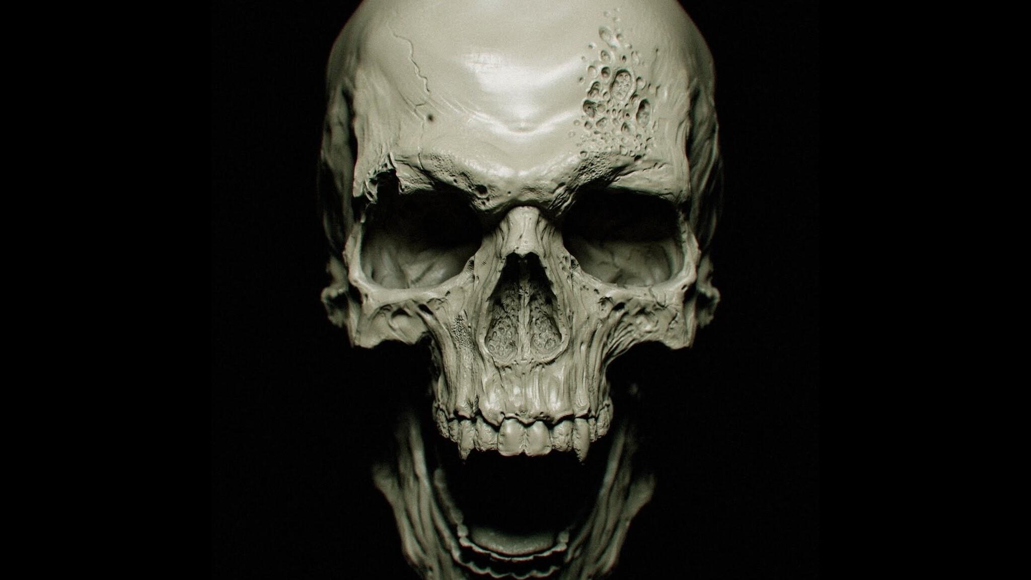 2048x1152 skull 2048x1152 resolution hd 4k wallpapers - Skull 4k images ...