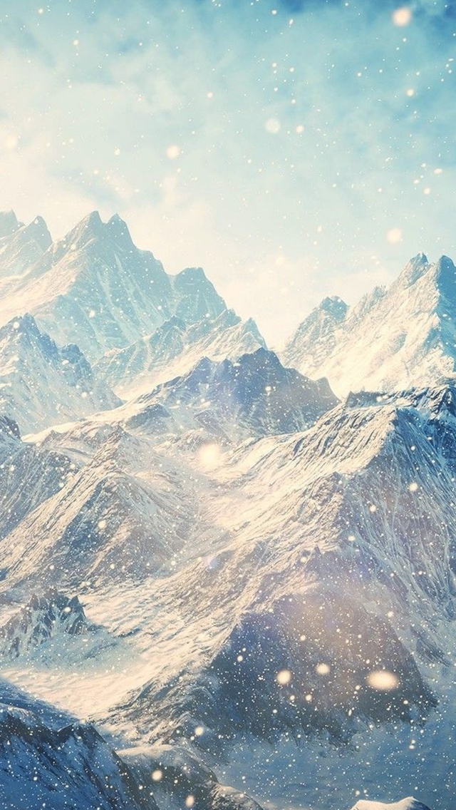 640x1136 Skyrim Mountains Iphone 5 5c 5s Se Ipod Touch Hd 4k