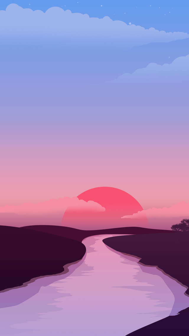 small-lake-red-sunset-4k-4x.jpg