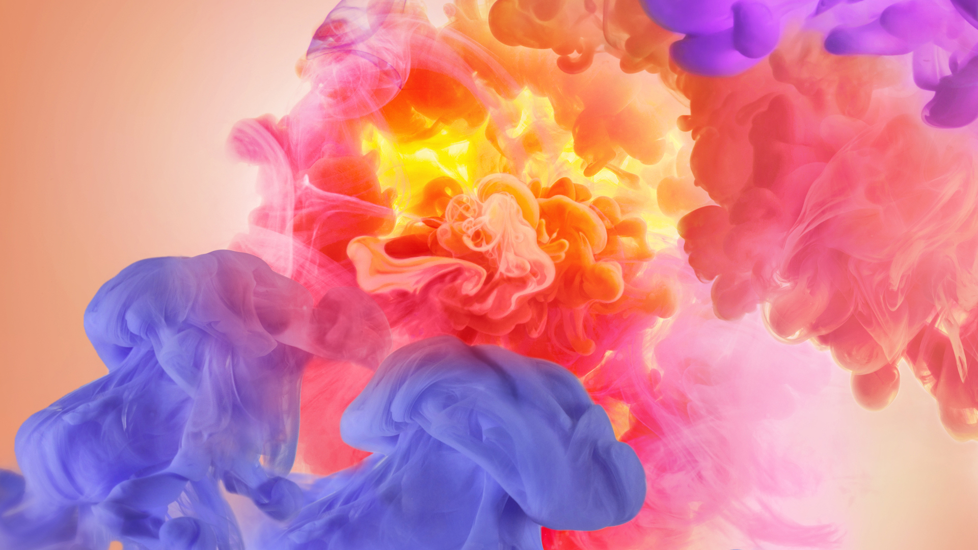 1920x1080 Smoke Colors Abstract Laptop Full Hd 1080p Hd 4k