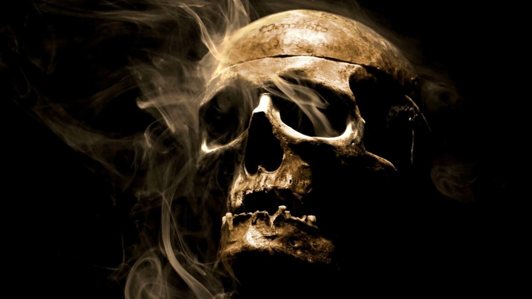 2048x1152 Smoke Skull 2048x1152 Resolution HD 4k ...