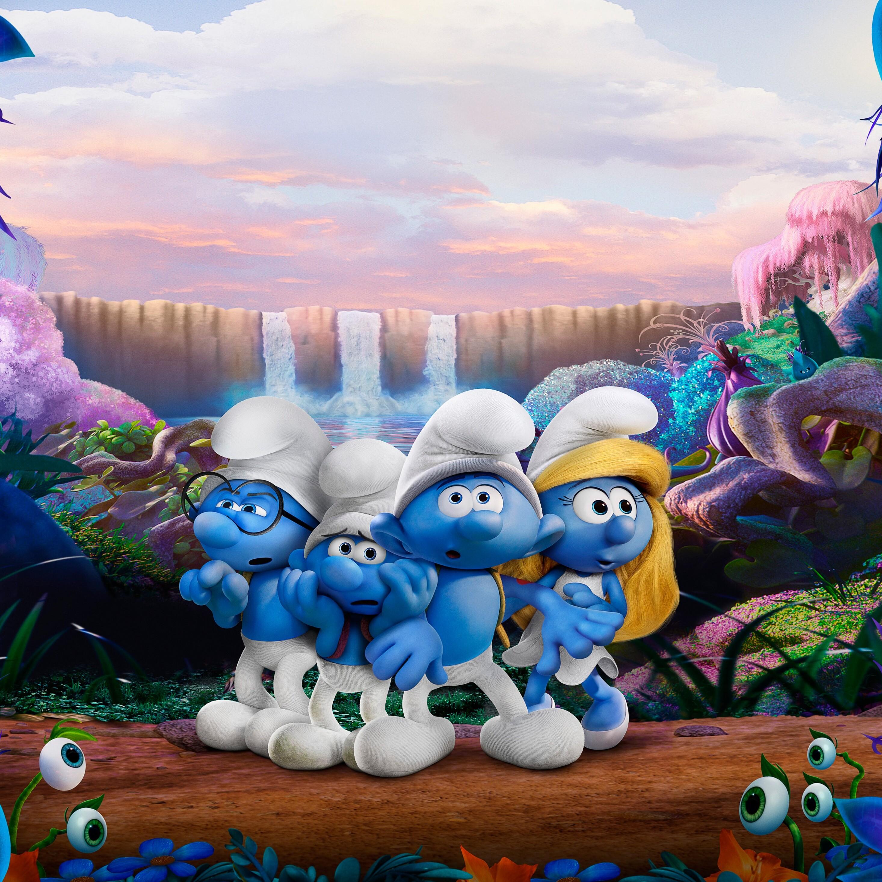 2932x2932 Smurfs The Lost Village 4k 5k Ipad Pro Retina ...