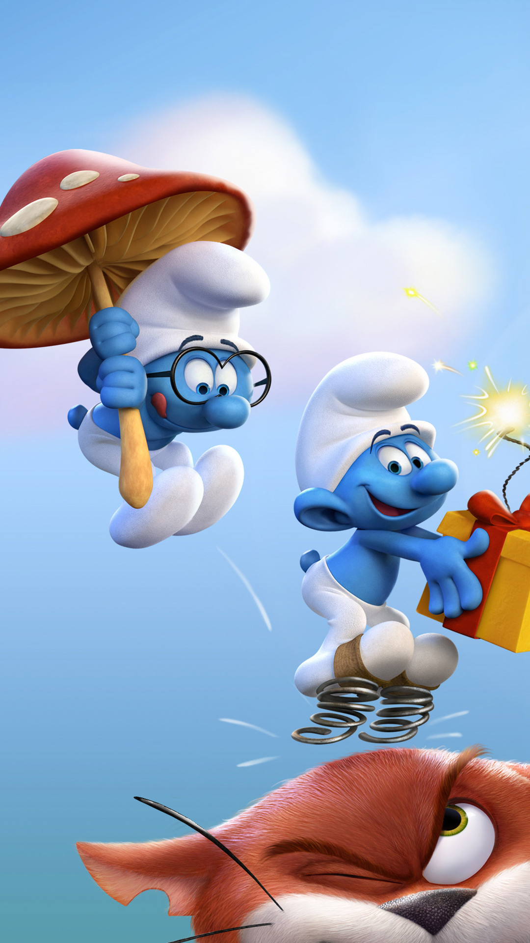 1080x1920 Smurfs The Lost Village Official Iphone 7,6s,6 ...