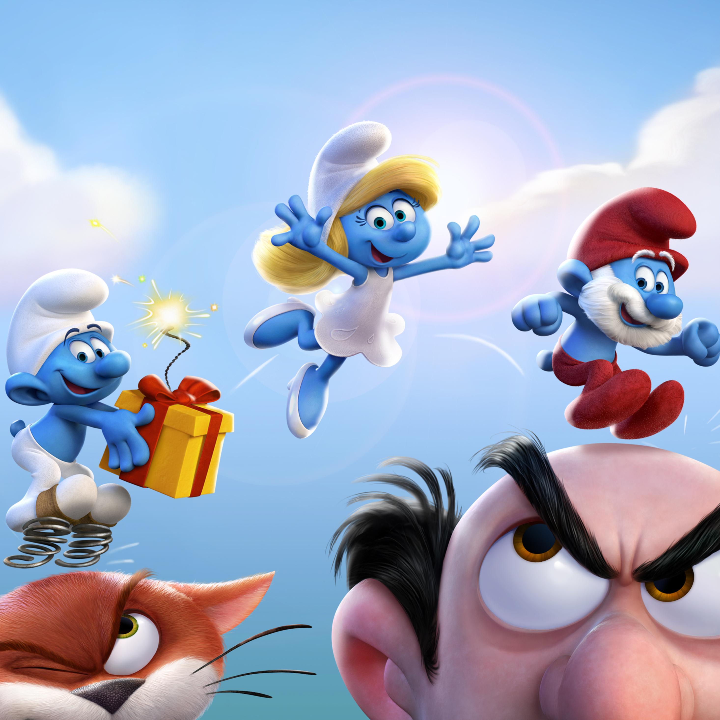2932x2932 Smurfs The Lost Village Official Ipad Pro Retina ...