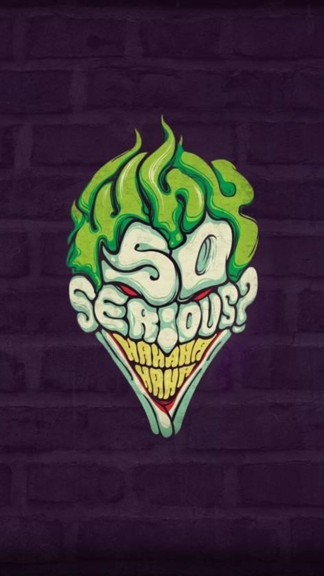 So Serious Joker Wallpaper