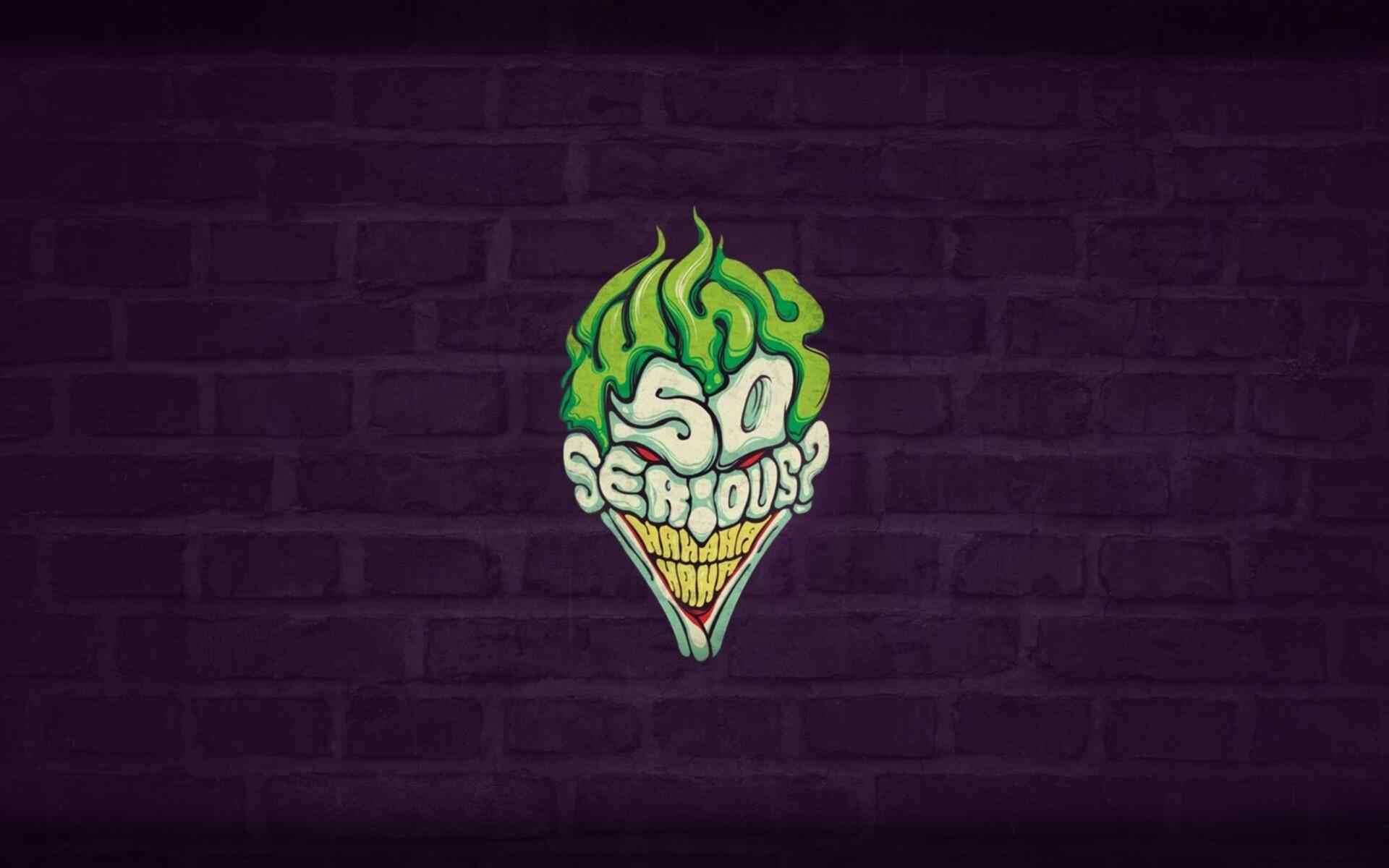 1920x1200 So Serious Joker 1080P Resolution HD 4k ...