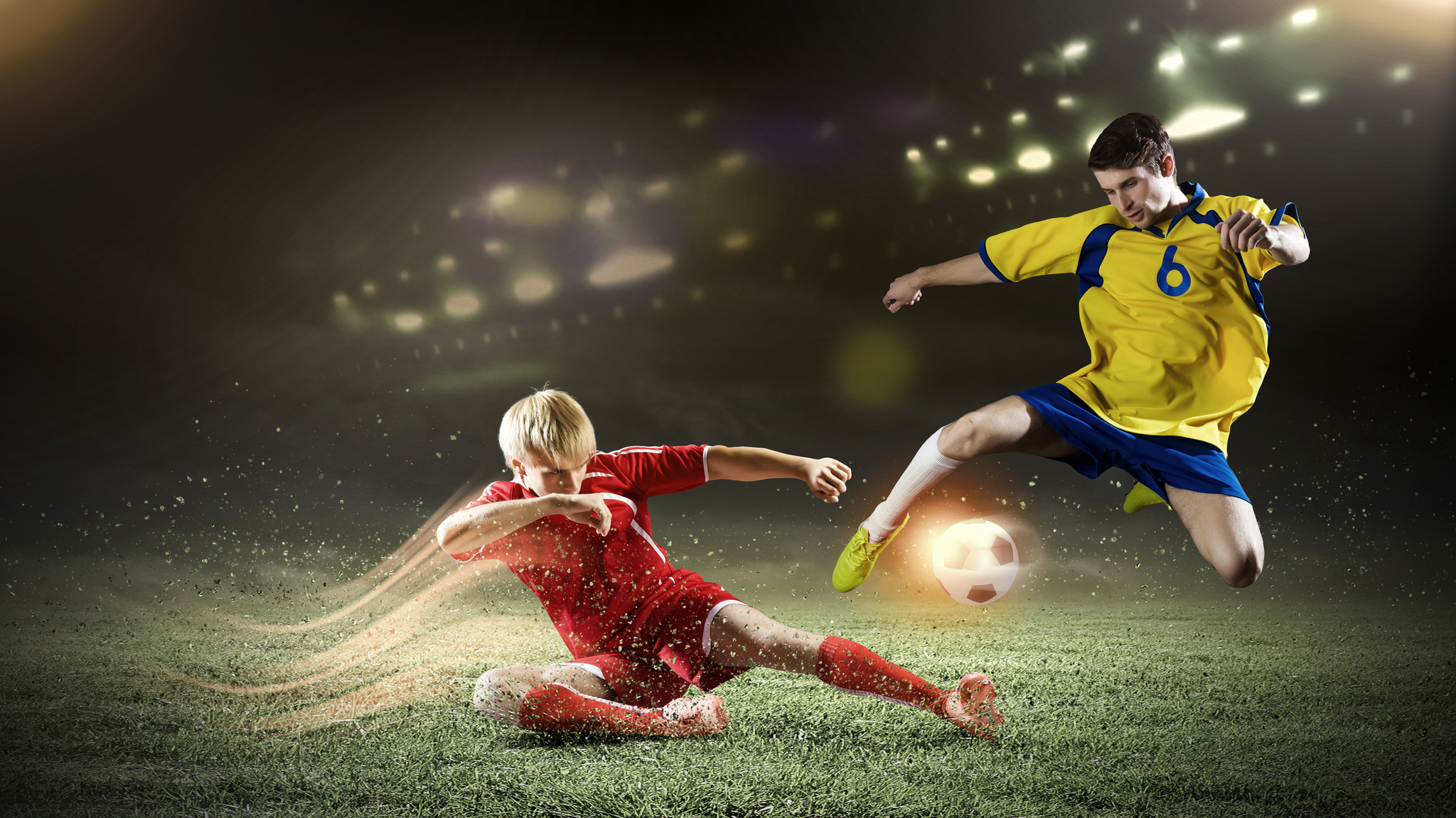 2048x1152 Soccer Players Football 4k 2048x1152 Resolution HD 4k Wallpapers, Images, Backgrounds ...