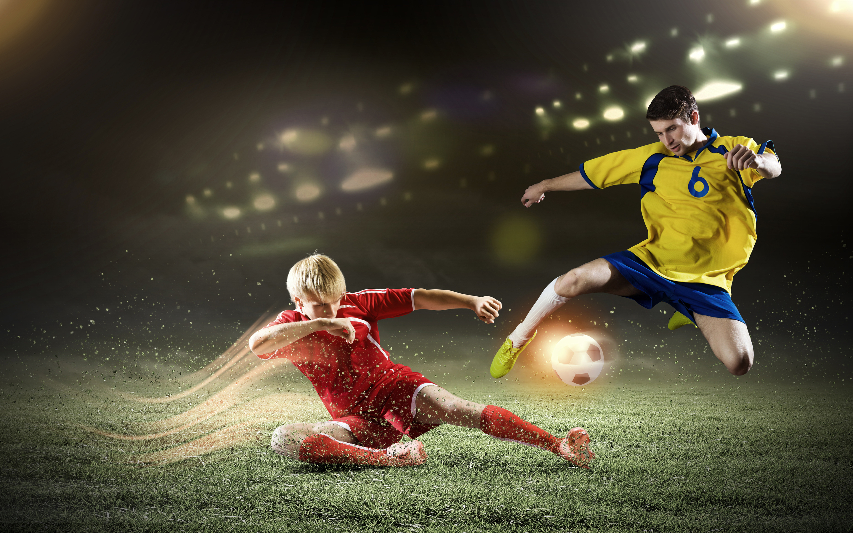 2880x1800 Soccer Players Football 4k Macbook Pro Retina Hd 4k Wallpapers Images Backgrounds Photos And Pictures