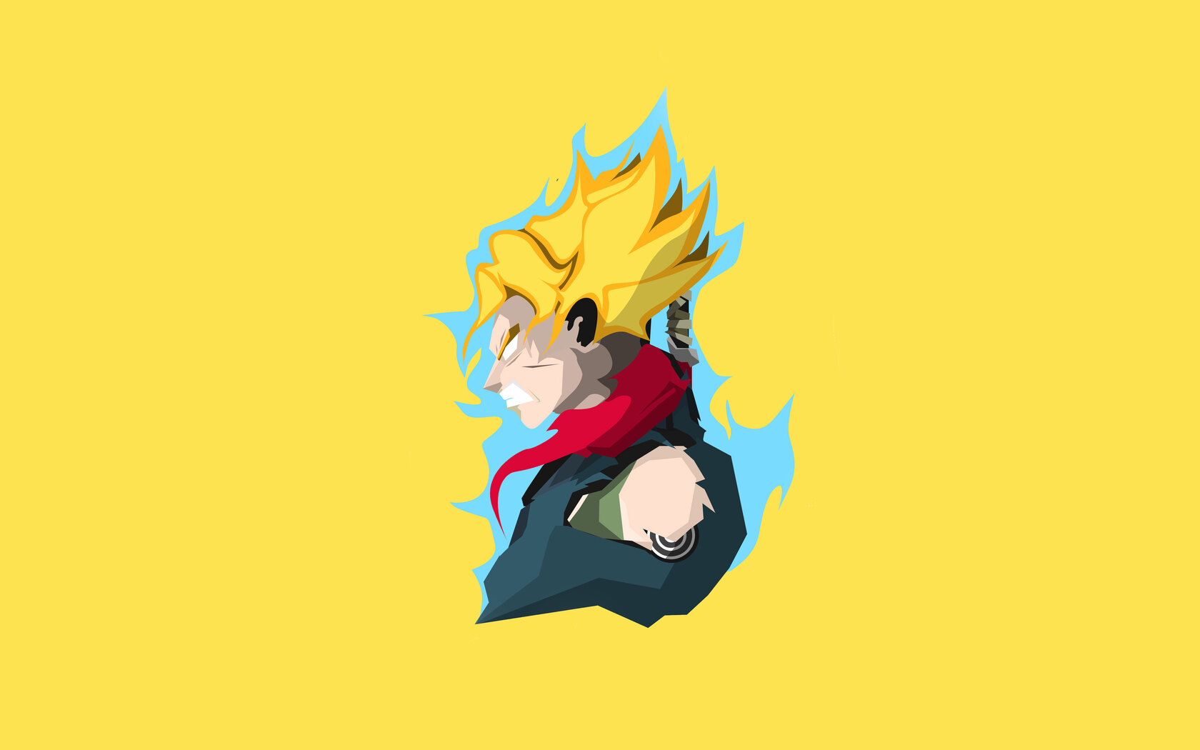 1680x1050 Son Goku Dragon Ball Super 4k Minimalism 1680x1050