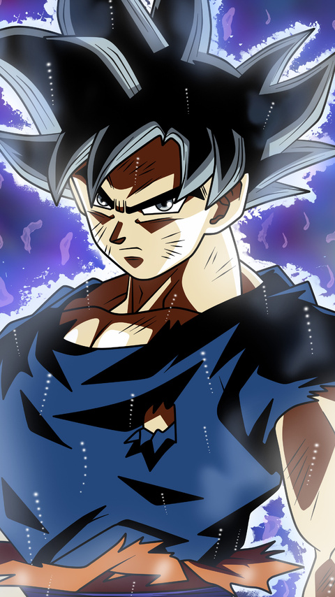 480x854 son goku dragon ball super 5k anime android one hd - 5k anime wallpaper ...