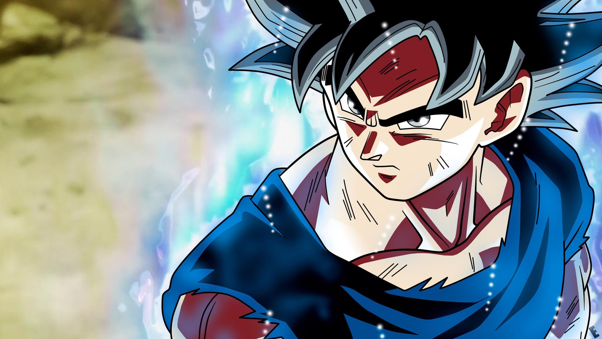 2048x1152 Son Goku Dragon Ball Super Anime Retina Display 5k 2048x1152 Resolution HD 4k ...
