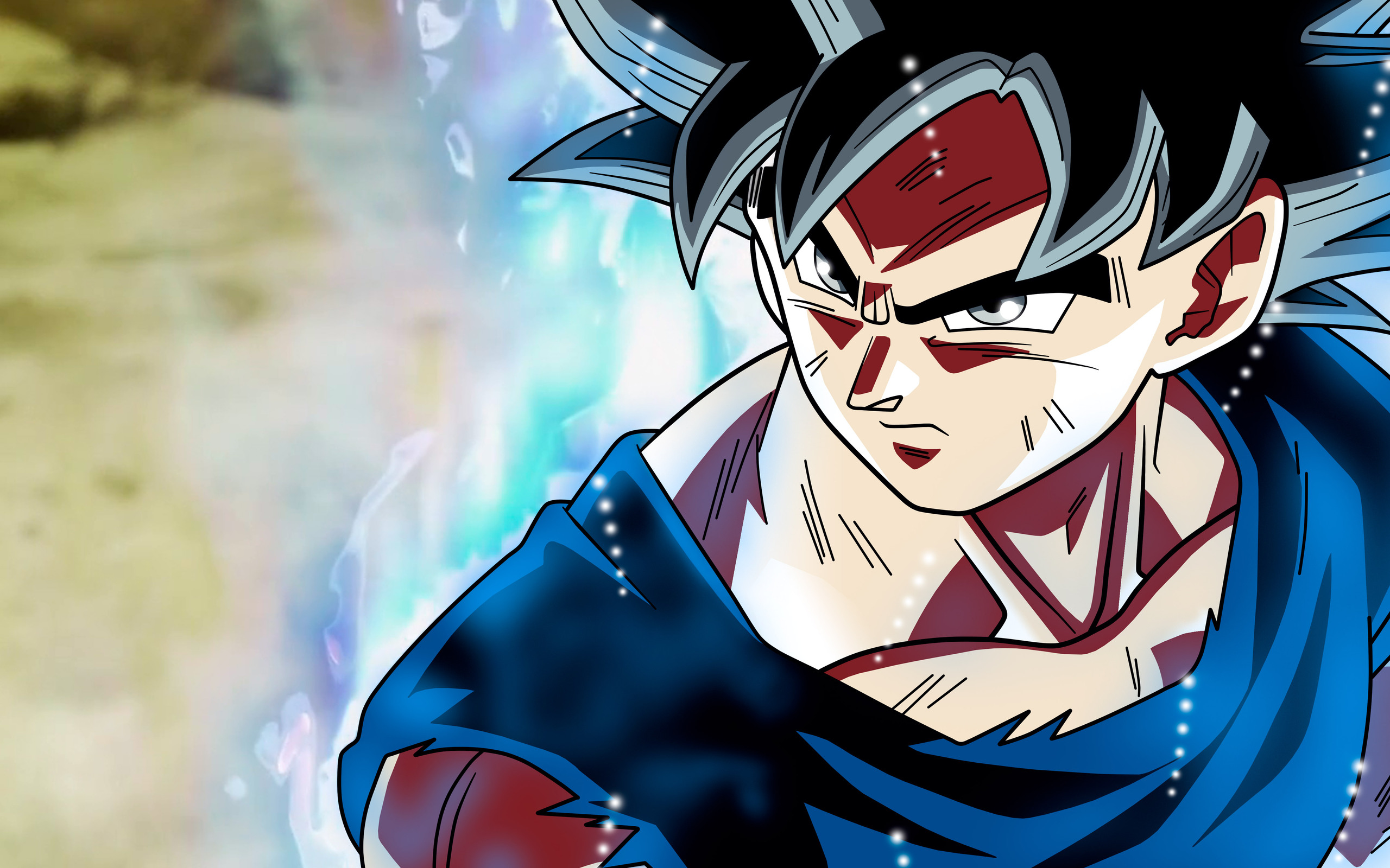 2560x1600 son goku dragon ball super anime retina display 5k