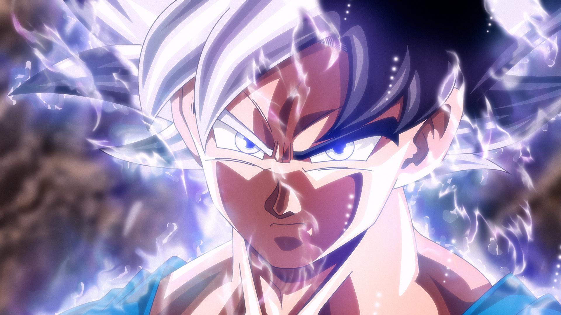 1920x1080 Son Goku Mastered Ultra Instinct Laptop Full Hd 1080p Hd
