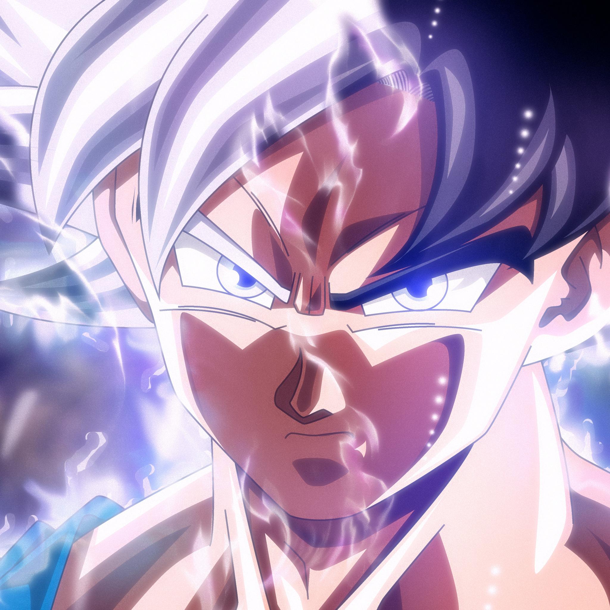Ultra Instinct Dragon Ball Super Wallpaper: 2048x2048 Son Goku Mastered Ultra Instinct Ipad Air HD 4k