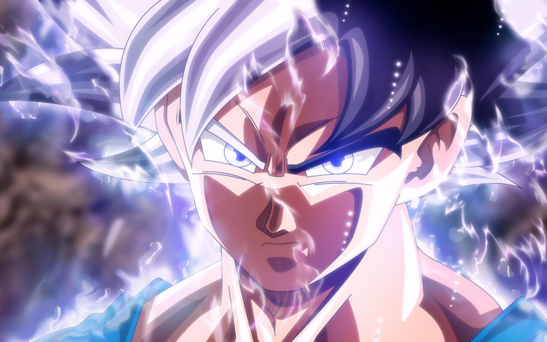 2880x1800 son goku mastered ultra instinct macbook pro - Goku ultra instinct mastered wallpaper ...
