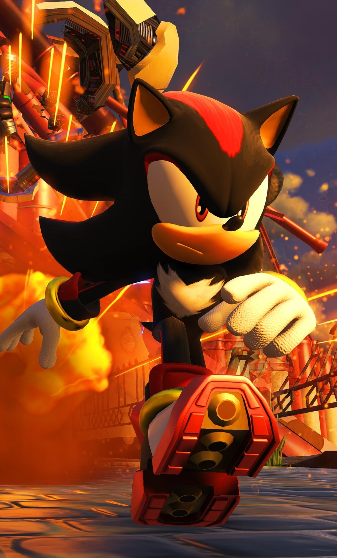 1280x2120 Sonic Forces 4k iPhone 6+ HD 4k Wallpapers ...