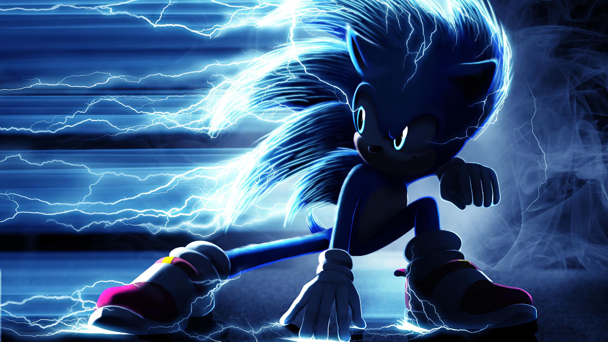 2048x1152 Sonic The Hedge Hog Movie 4k 2048x1152 ...