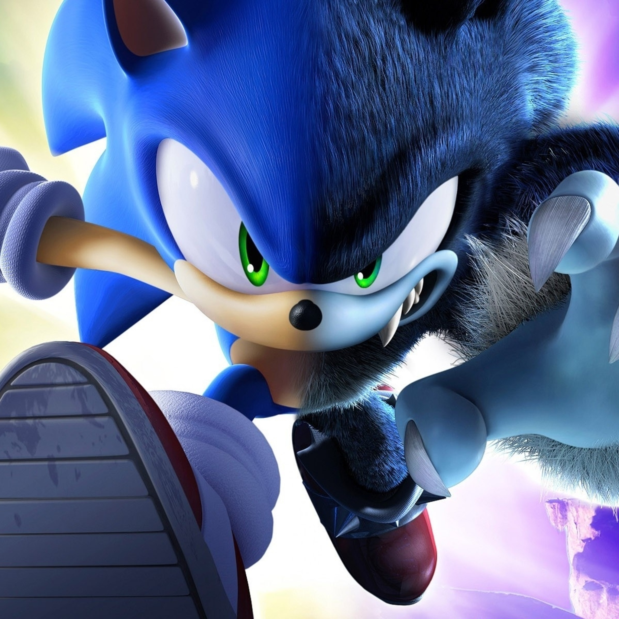 2048x2048 Sonic The Hedgehog Ipad Air Hd 4k Wallpapers Images Backgrounds Photos And Pictures