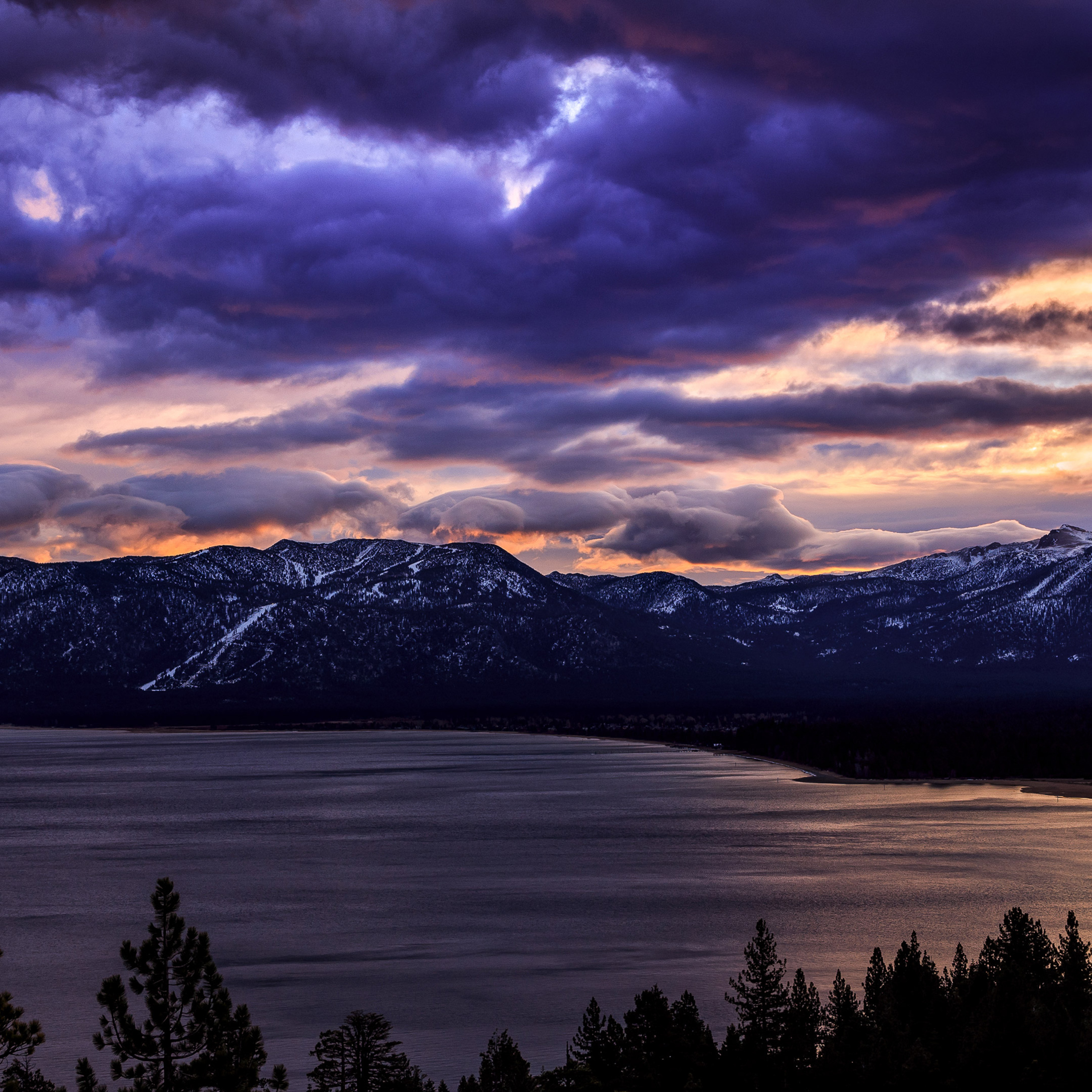 2932x2932 South Lake Tahoe Ipad Pro Retina Display Hd 4k