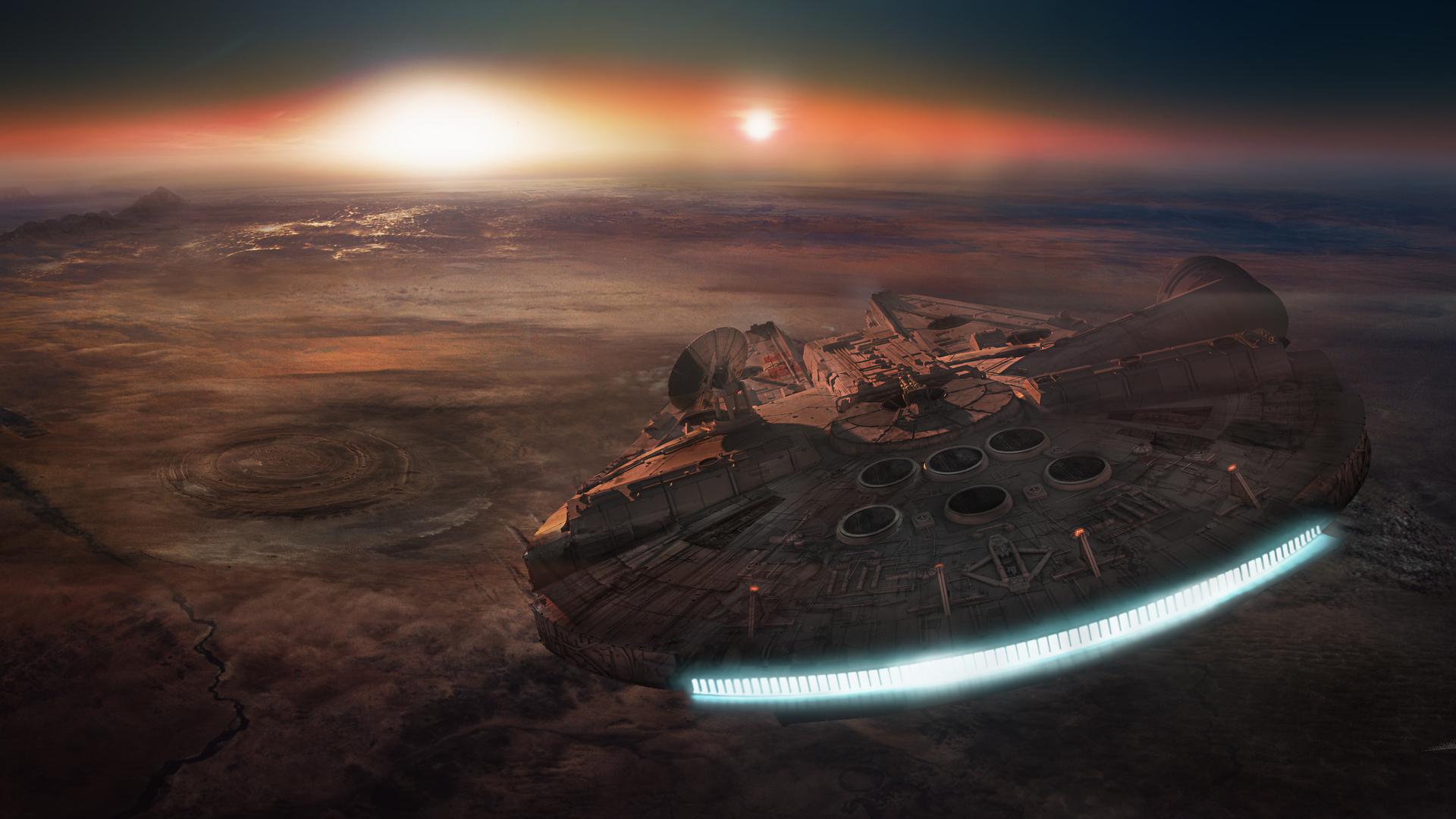 1920x1080 Space Scifi Star Wars Episode Fan Art 3 Dimensional Laptop
