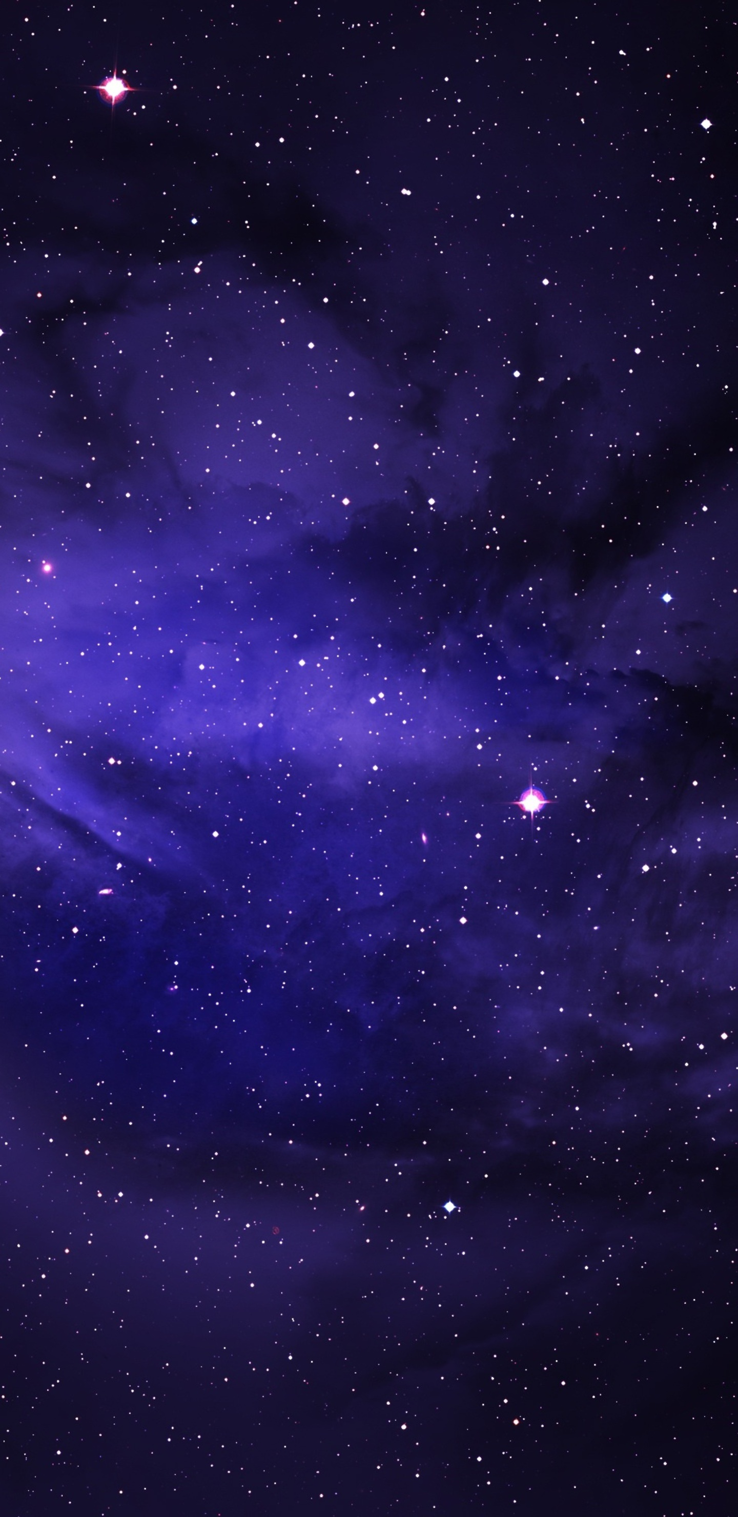 1440x2960 space stars purple sky samsung galaxy note 9 8 - Samsung s9 wallpaper 4k ...