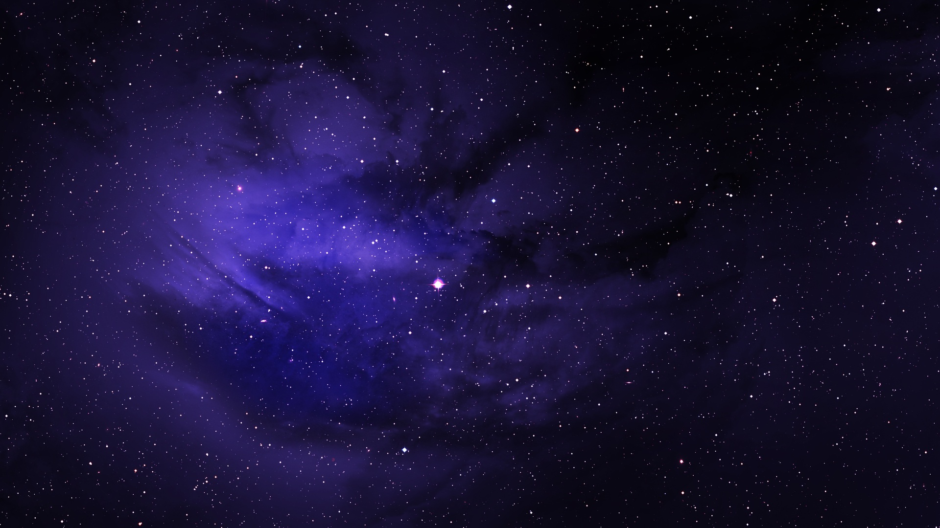 1920x1080 Space Stars Purple Sky Laptop Full Hd 1080p Hd 4k